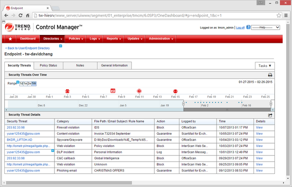 Trend Micro InterScan Messaging Security Suite: Multiple Vulnerabilities